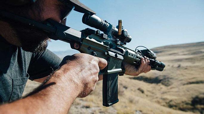 Noveske Ghetto Blaster Rifle shooting