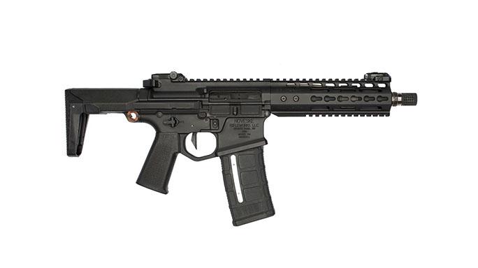 Noveske Ghetto Blaster Rifle 7.94-inch collapsed stock