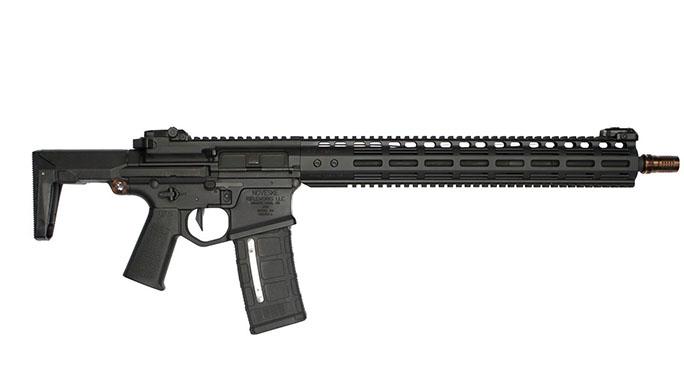 Noveske Ghetto Blaster Rifle 16-inch collapsed stock