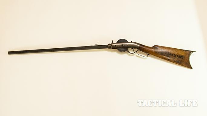 Porter Turret Rifle left profile