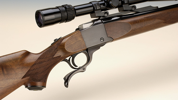 Ruger No.1 218 Bee varmint hunting rifle