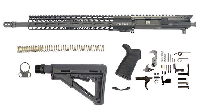 Stag 15 Tactical Rifle Kit parts
