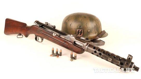 Steyr MP34 submachine gun