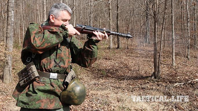Steyr MP34 submachine gun woods walk