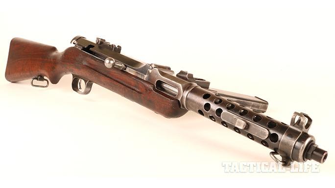 Steyr MP34 submachine gun rear sight