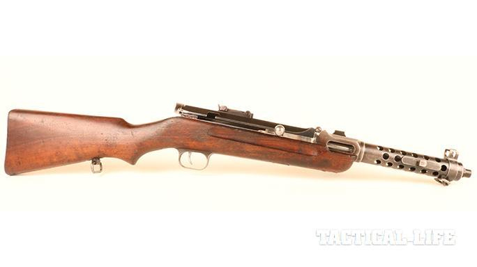 Steyr MP34 submachine gun right profile