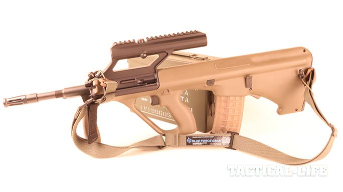 Vickers Combat Application Sling on steyr aug