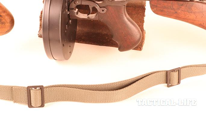 Vickers Combat Application Sling on tommy gun middle