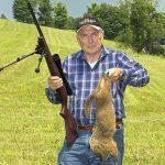Weatherby Vanguard varmint hunting rifle