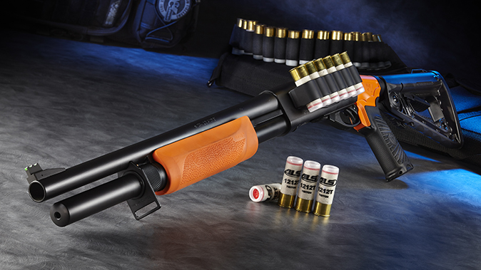 Wilson Combat Less Lethal 870 left angle