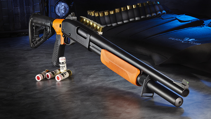 Wilson Combat Less Lethal 870 right angle