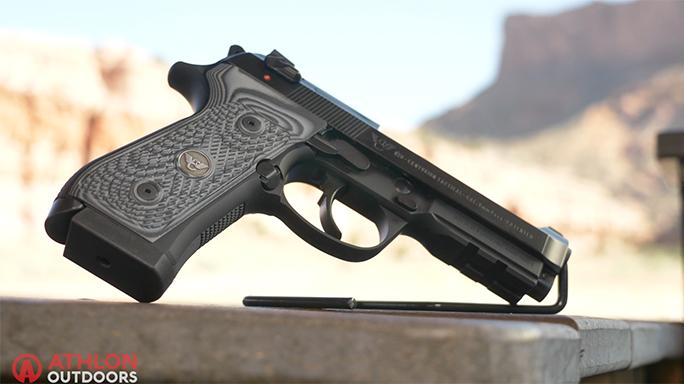 Beretta/Wilson Combat 92G Centurion Tactical Pistol Athlon Outdoors Rendezvous video