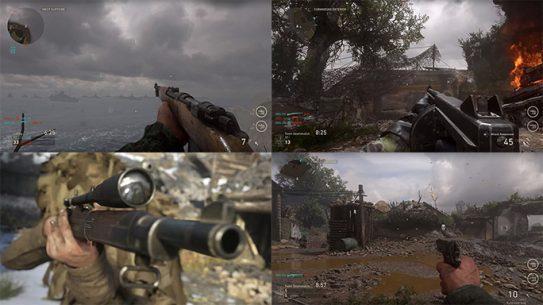Call of Duty WW2 guns 2017