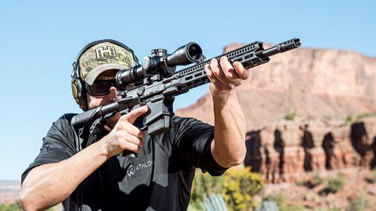 Daniel Defense DD5V2 rifle range Athlon Outdoor Rendezvous