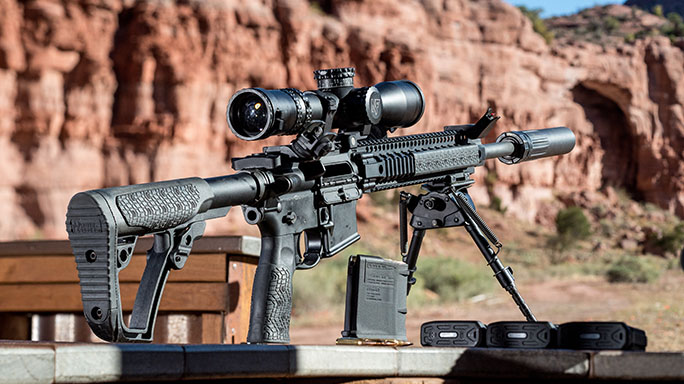 Daniel Defense DD Wave Suppressor Athlon Outdoors Rendezvous rifle
