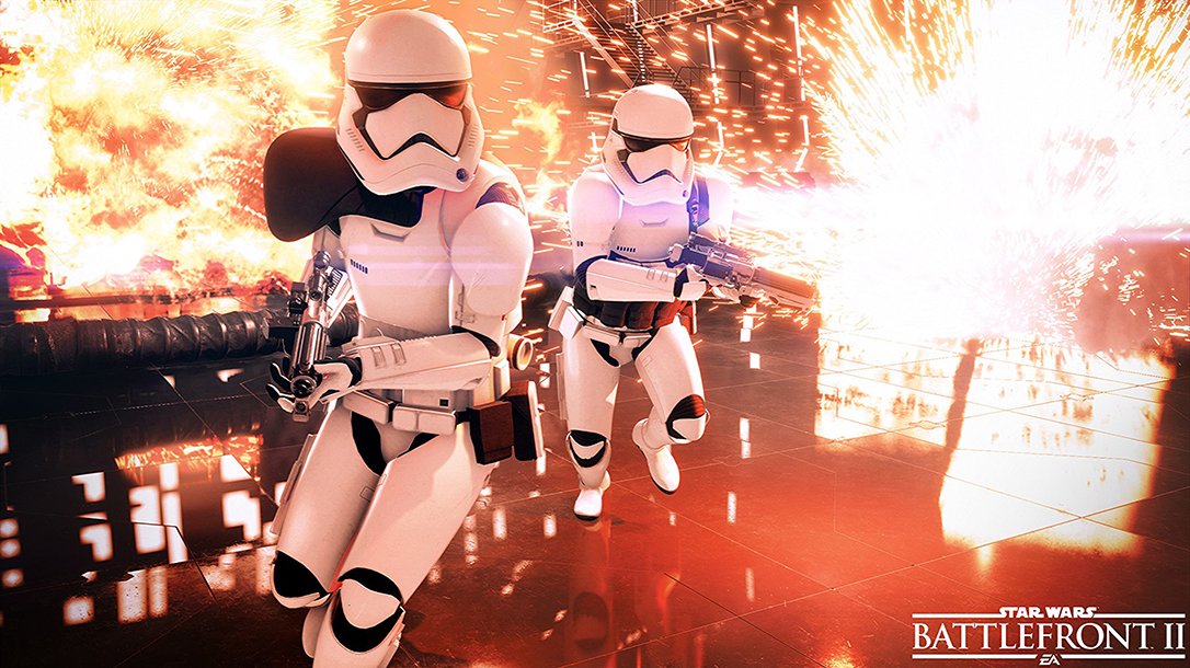First-Person Shooter Video Games Star Wars Battlefront II