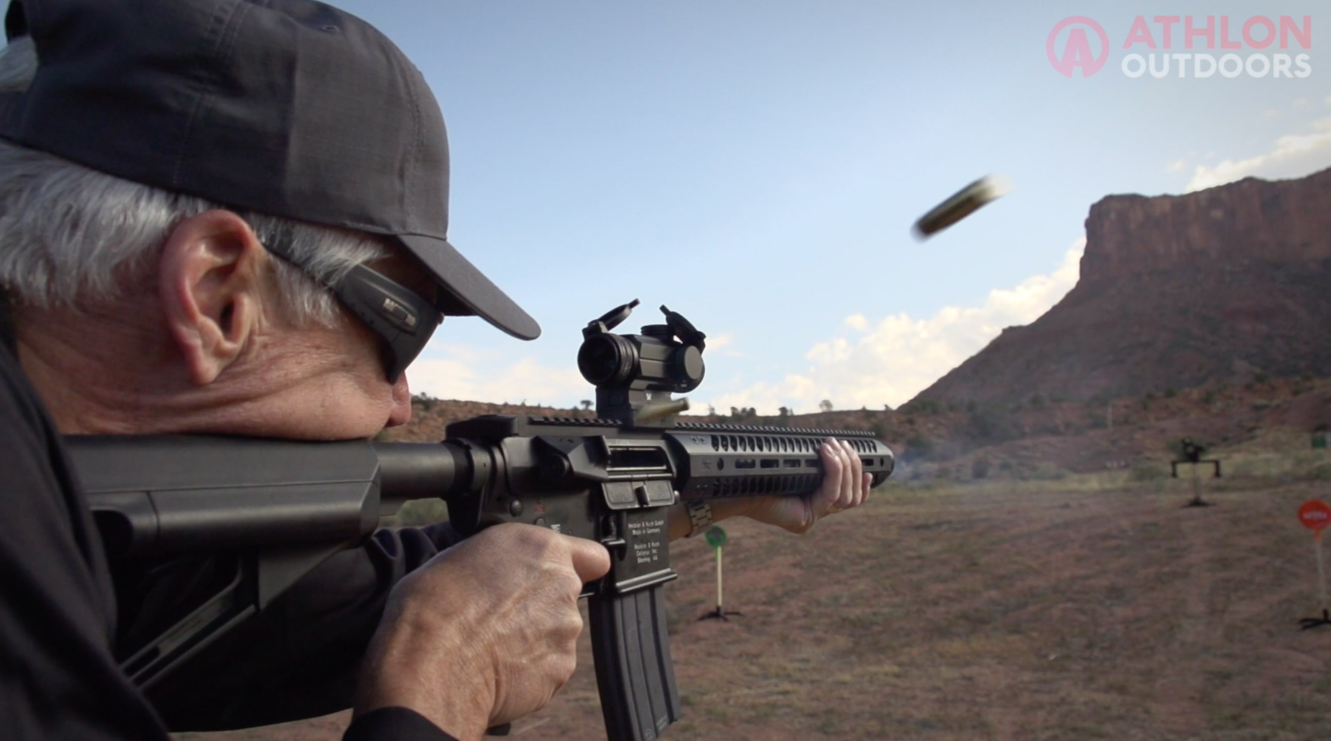 Gemtech 300 BLK Integra Upper Athlon Outdoors Rendezvous range firing
