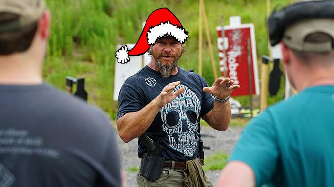 Holiday Safety Pat McNamara santa hat