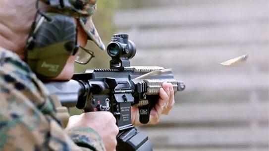 marine gunner full auto fire