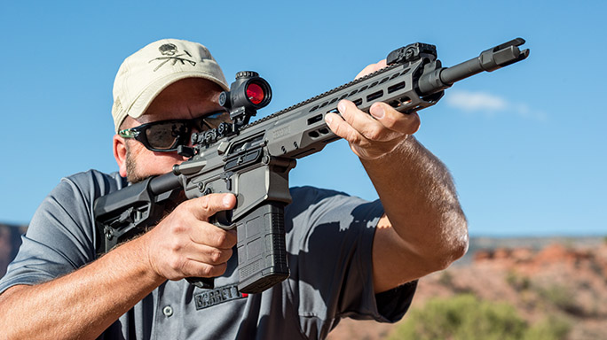 Barrett REC10 Rifle Athlon Outdoors Rendezvous aim