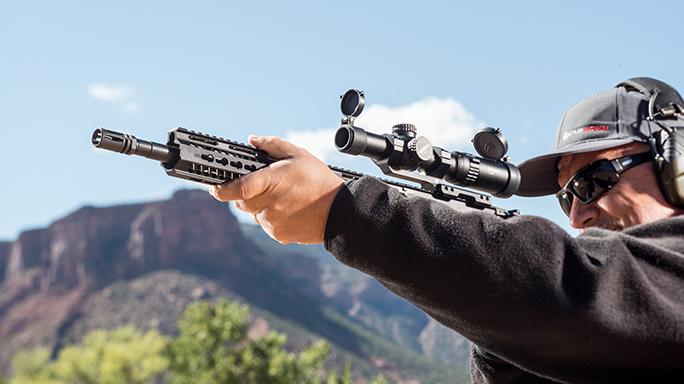 Taurus T4SA M4 Carbine Athlon Outdoors Rendezvous aim