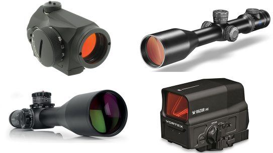 new gun optics and sights