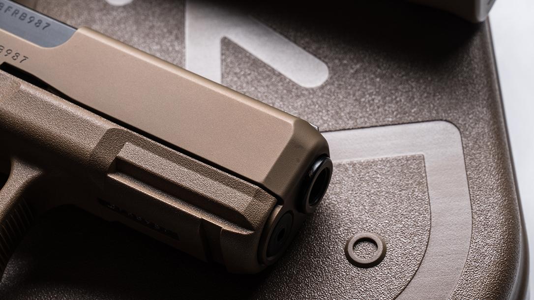 Glock 19X pistol release barrel