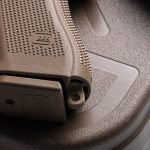 Glock 19X pistol release magwell