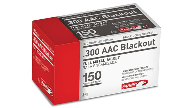 Aguila 300 BLK FMJs AR cartridges