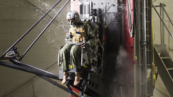 air force m17 modular handgun system test ejection seat impact