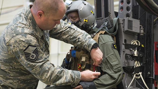 air force m17 modular handgun system test dummy