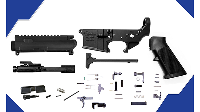 Anderson Upper/Lower Build Kit budget AR
