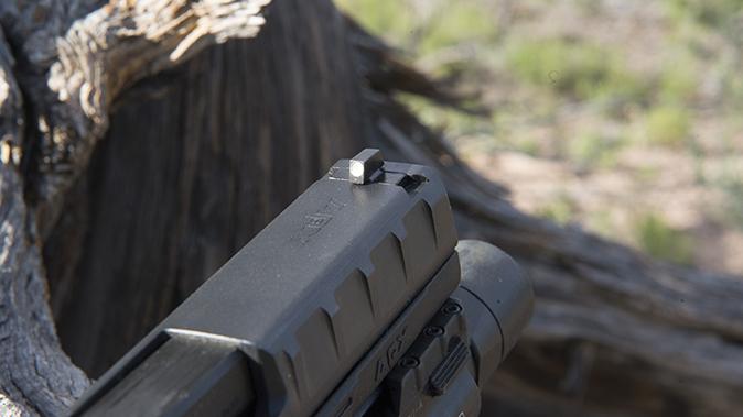 Beretta APX pistol front sight