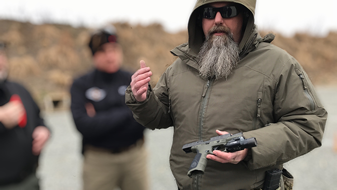 Beretta APX pistol john chapman