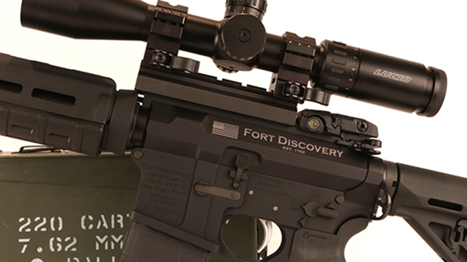 Fort Discovery Expedition rifle receivers