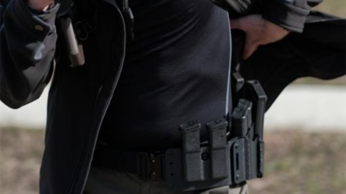 high threat concealment qrs salvo holster rig belt