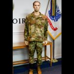 army jungle combat boot and hot weather uniform