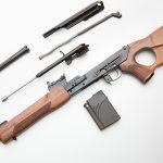 K-VAR VEPR rifle field stripped