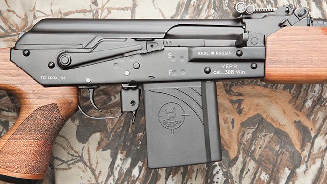 K-VAR VEPR rifle receiver right