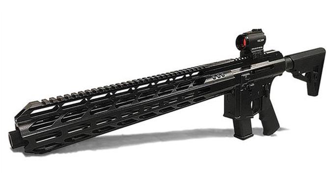 Lone Wolf AlphaWolf Pistol Caliber Carbine left angle