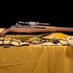 M1D Garand rifle right profile