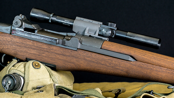 M1D Garand rifle scope