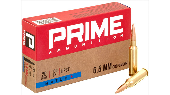 Prime Match+ Ammo ar cartridges