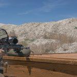 riflescope aiming right angle
