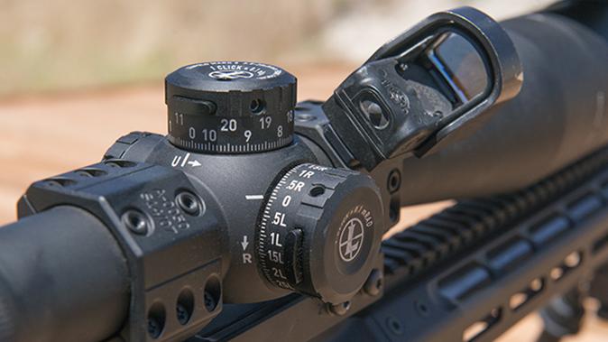 leupold riflescope turrets