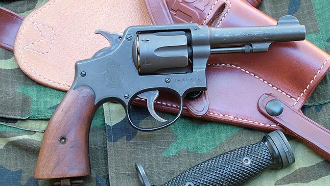 Smith & Wesson Victory Revolver right profile