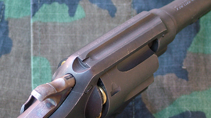 Smith & Wesson Victory Revolver rear sight