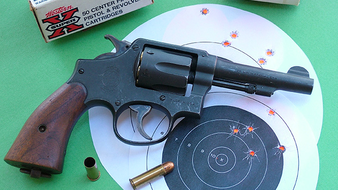 Smith & Wesson Victory Revolver target