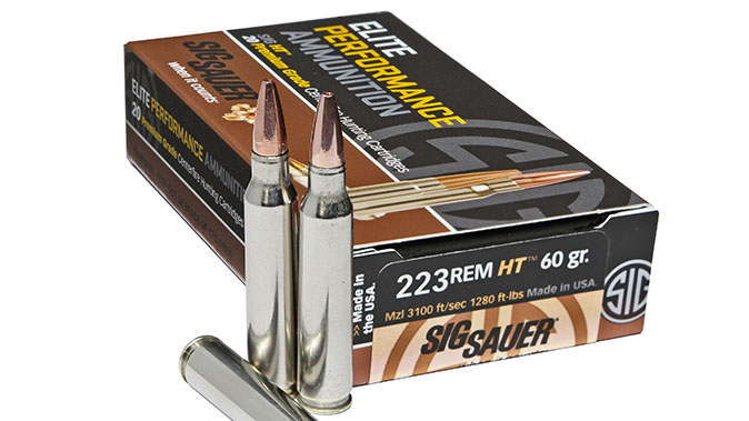 Sig Sauer HT ar cartridges
