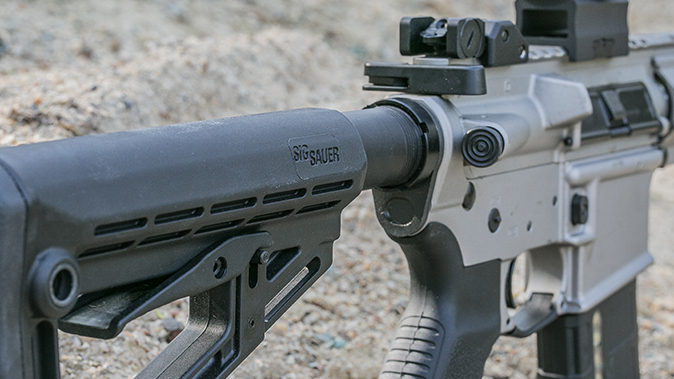Sig Sauer M400 Elite rifle stock
